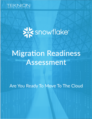 Connect Event_Snowflake_Migration Readiness_One Pager_Front