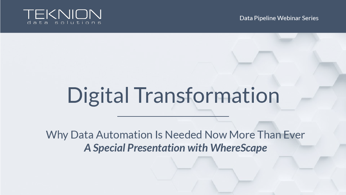DP - Digital Transformation with WhereScape