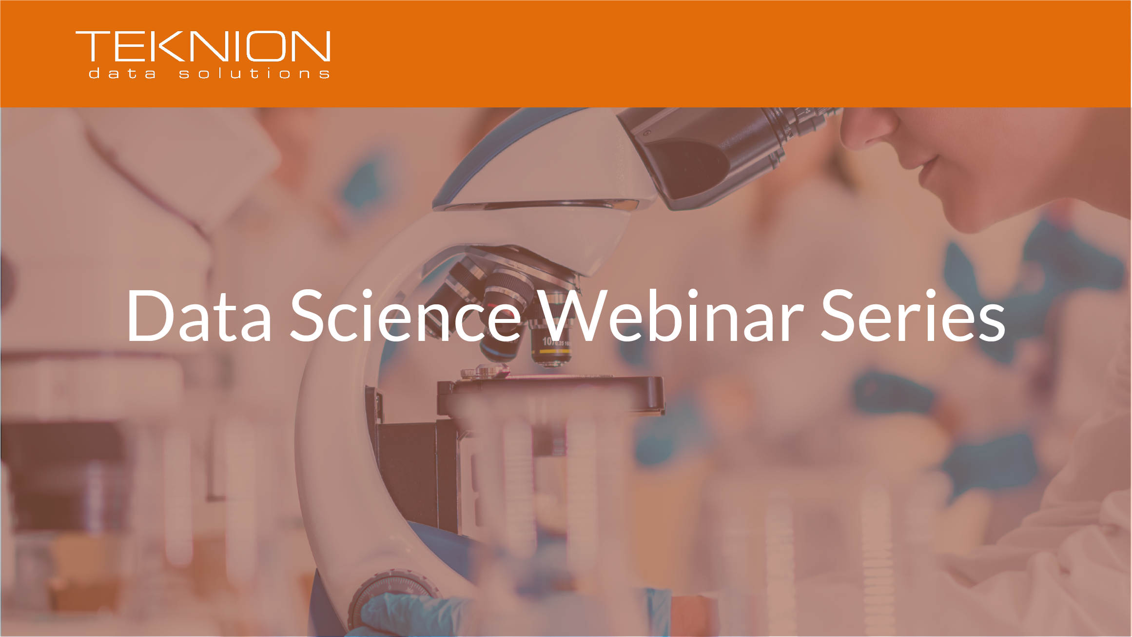 Data Science Webinar Series Cover