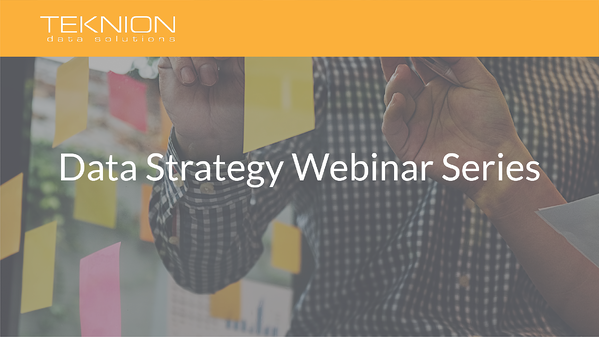 Data Strategy Webinar Series Cover