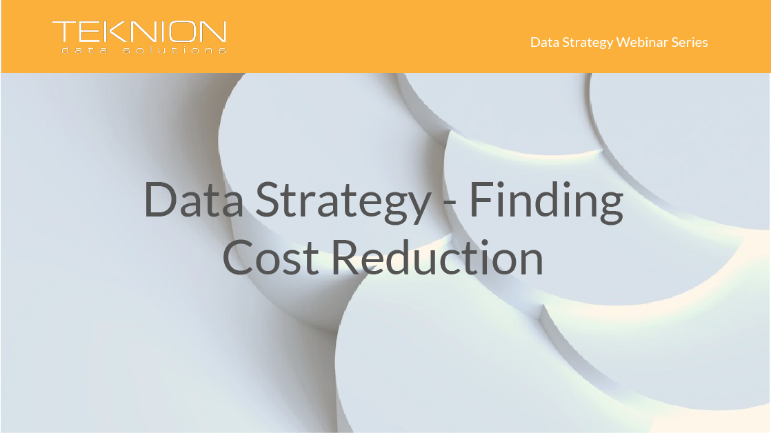 Strategy - Finding Cost Reduction