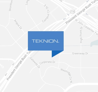 Teknion location map