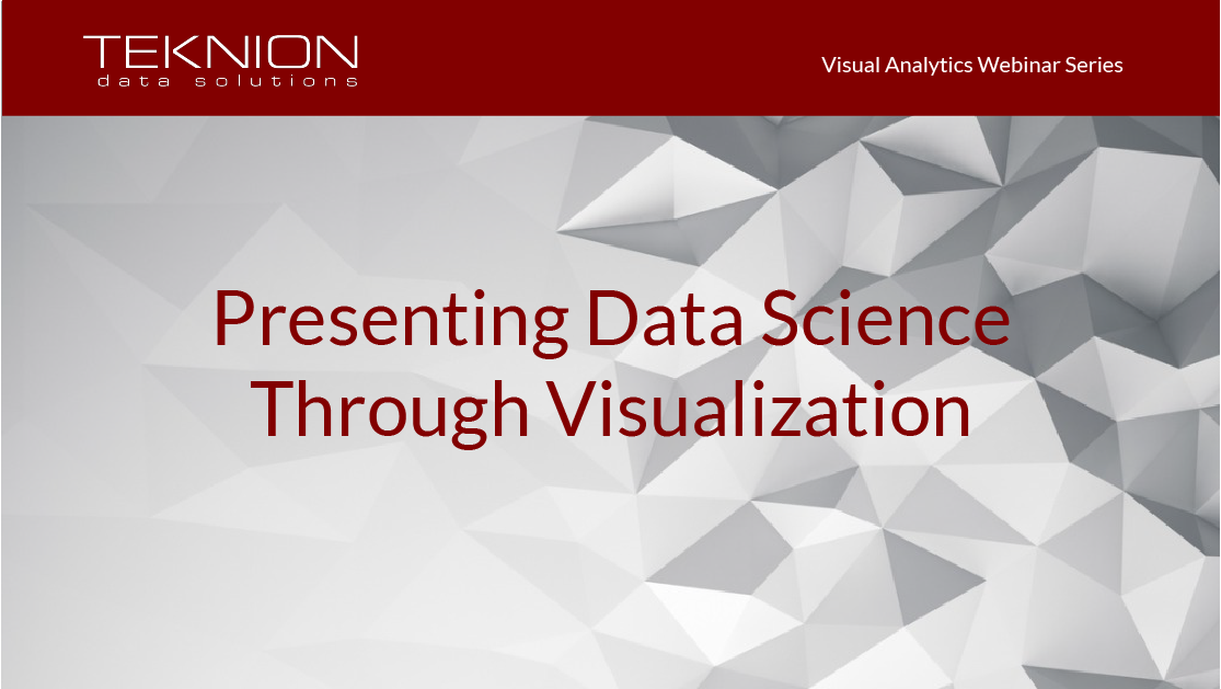 VA - Presenting Data Science Through Visualization without date