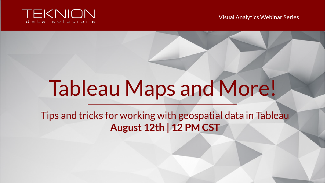 VA - Tableau Maps and More!