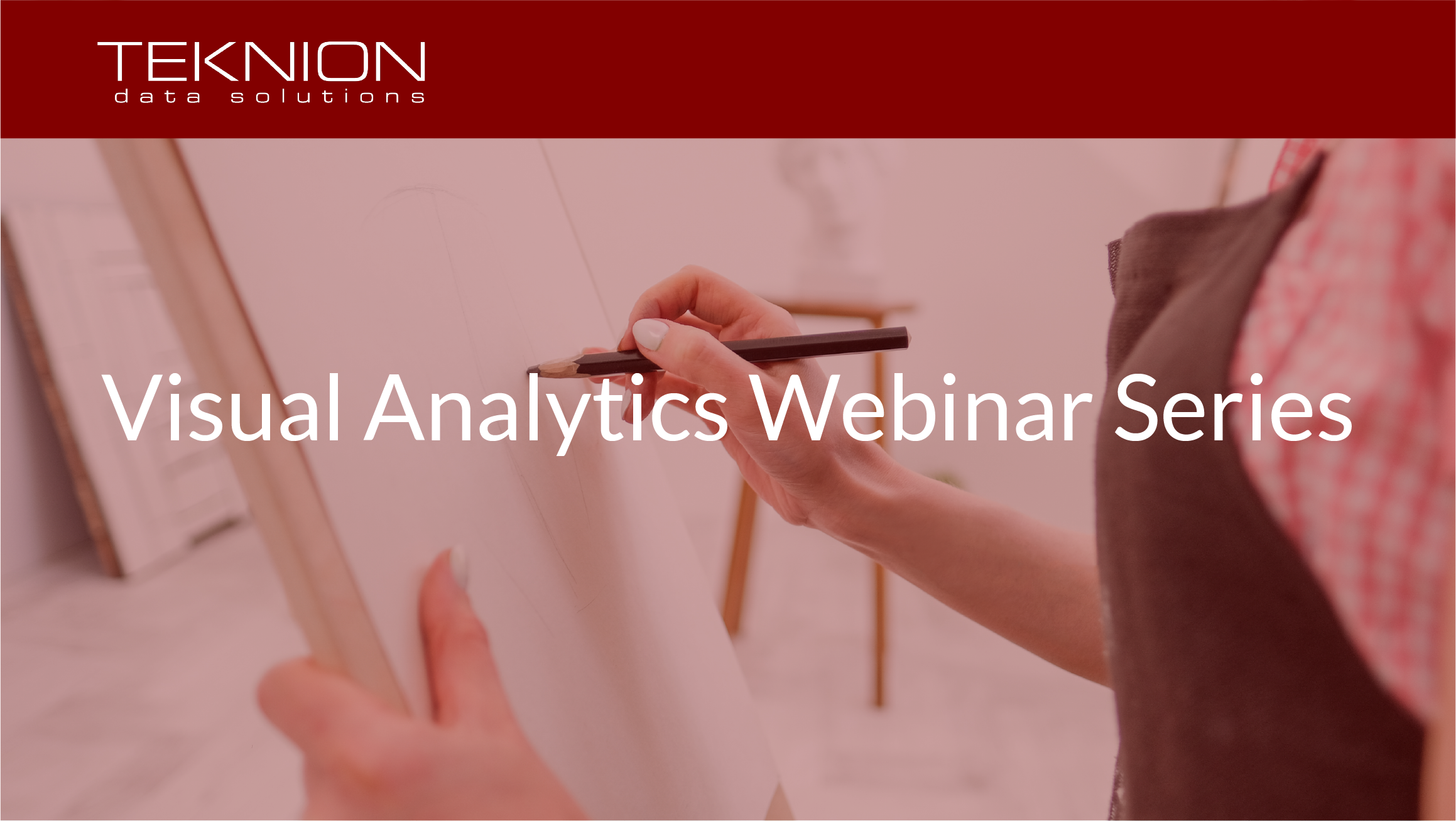 Visual Analytics Webinar Series Cover