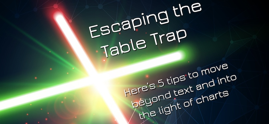 Escaping the Table Trap