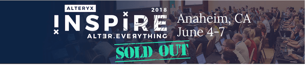 Alteryx Inspire 2018 Re-Cap & A Look To The Future