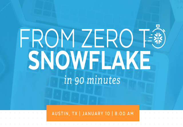 Event: Austin Snowflake 0-90 January 10 2019