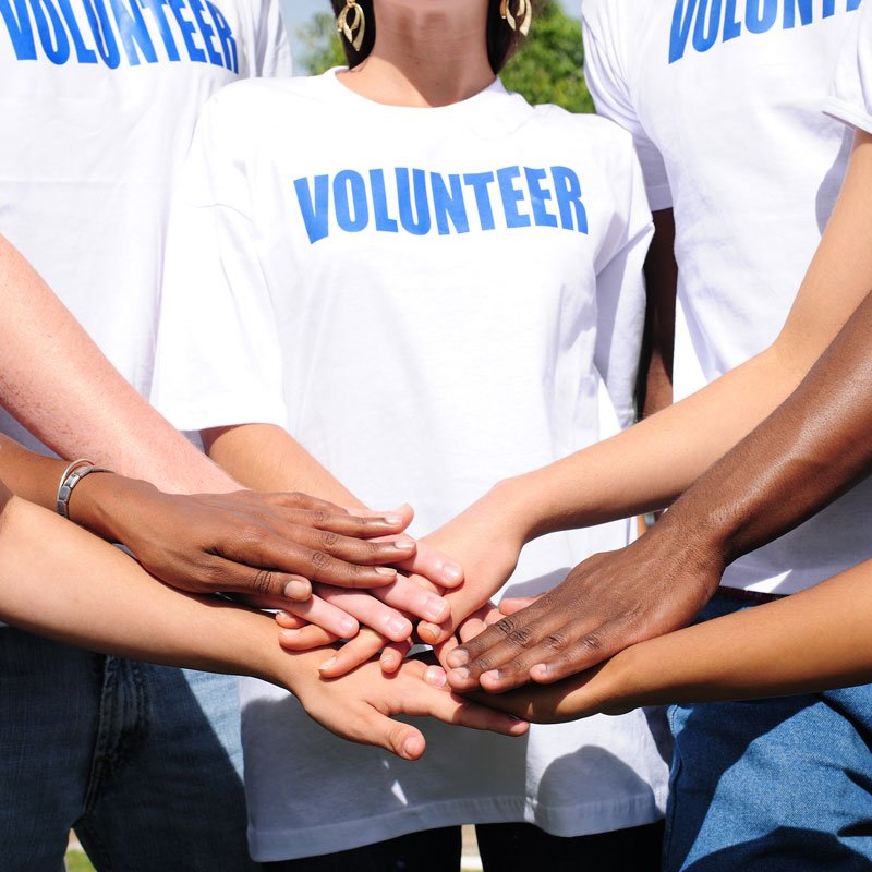 Our values volunteer