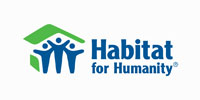 Habitat for Humanity's logo Teknion involved in community service