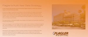 FLAGLER'S MULTI-YEAR DATA STRATEGY