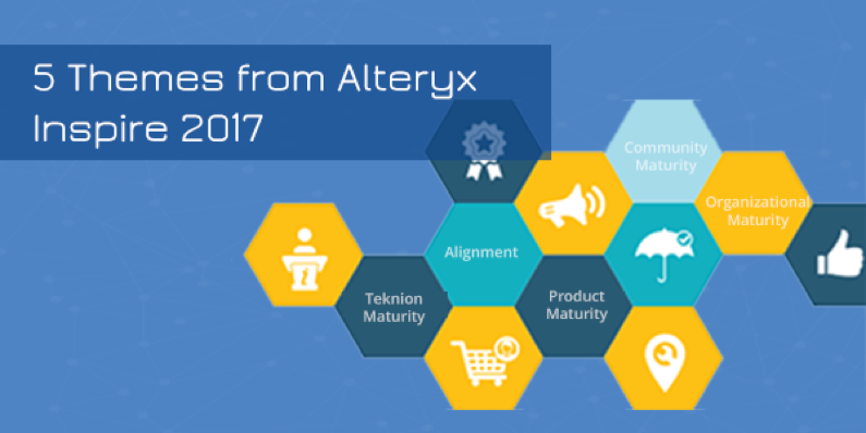 5 Themes from Alteryx Inspire 2017