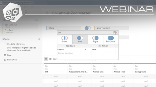 Tableau Webinar: Shaping Data with and for Tableau