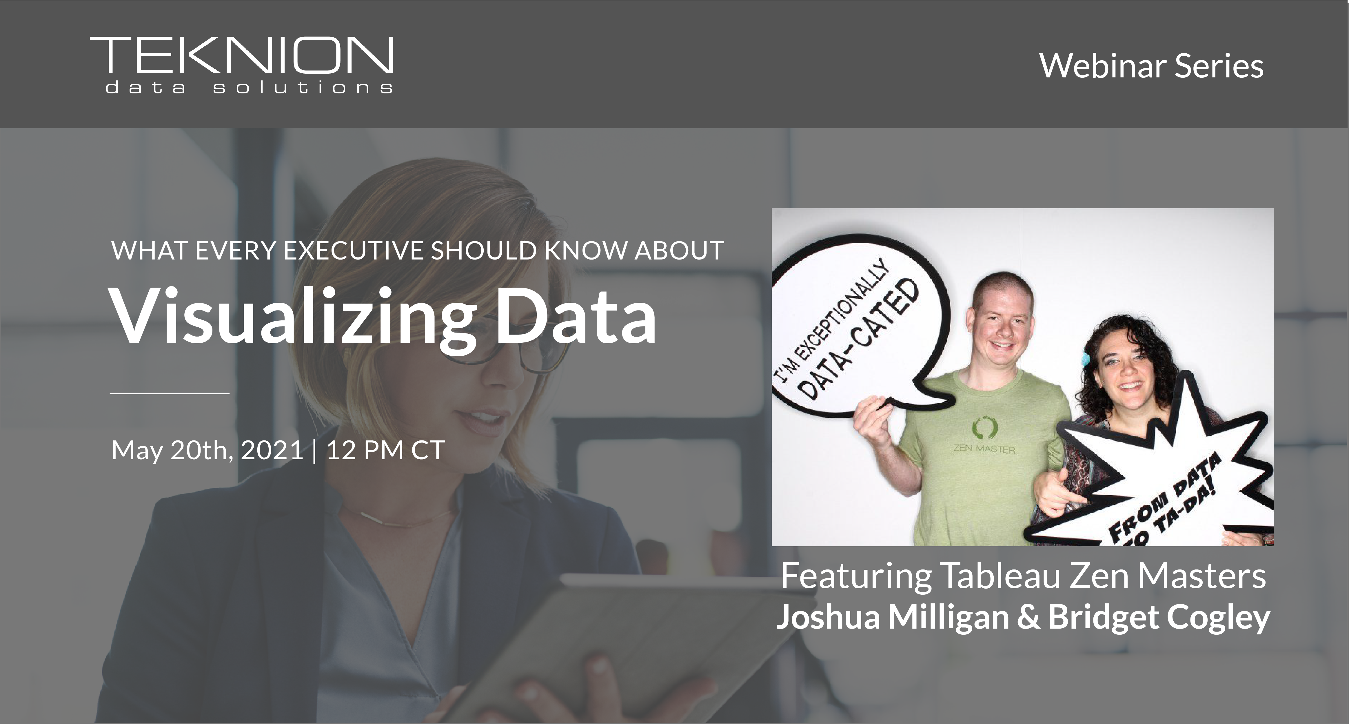 Visualizing Data, What Every Executive Should Know